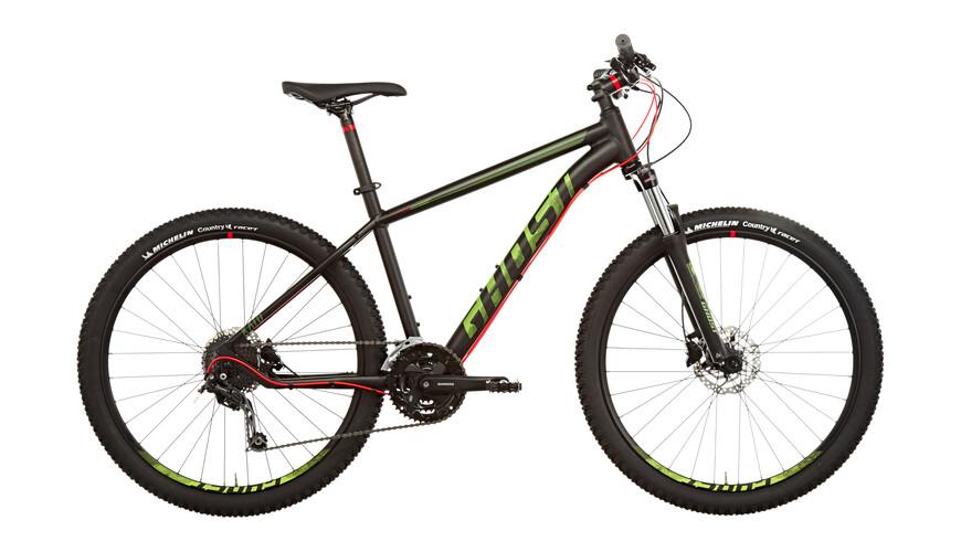 Ghost Kato 3 etujousitettu maastopyörä , punainen/musta